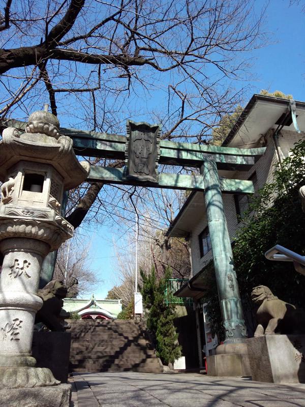 市谷亀ヶ岡八幡宮