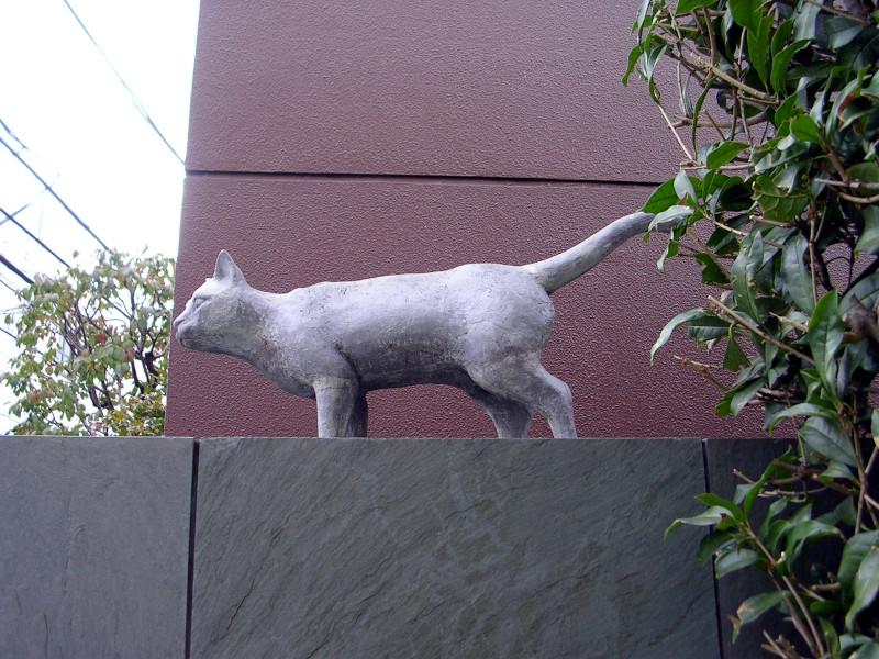 夏目漱石旧居跡(猫の家)