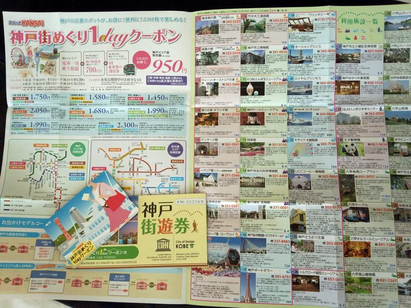 神戸街めぐり1dayクーポン